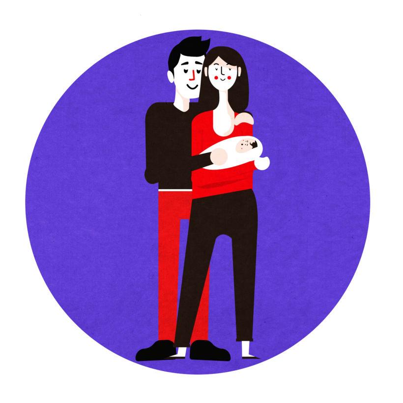 Ilustración Matrimonio 2