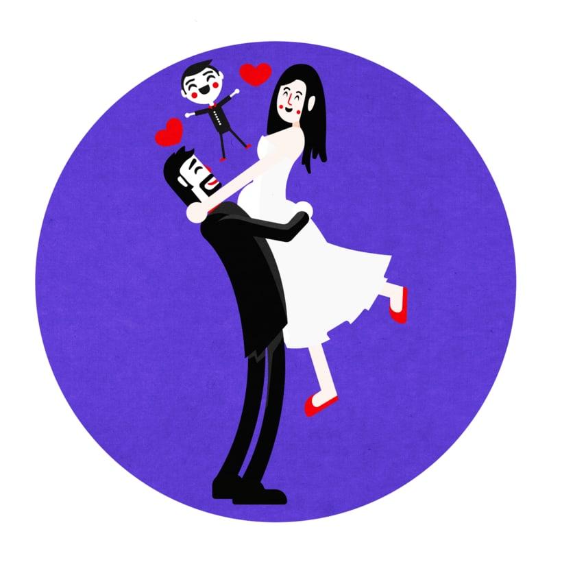 Ilustración Matrimonio 4
