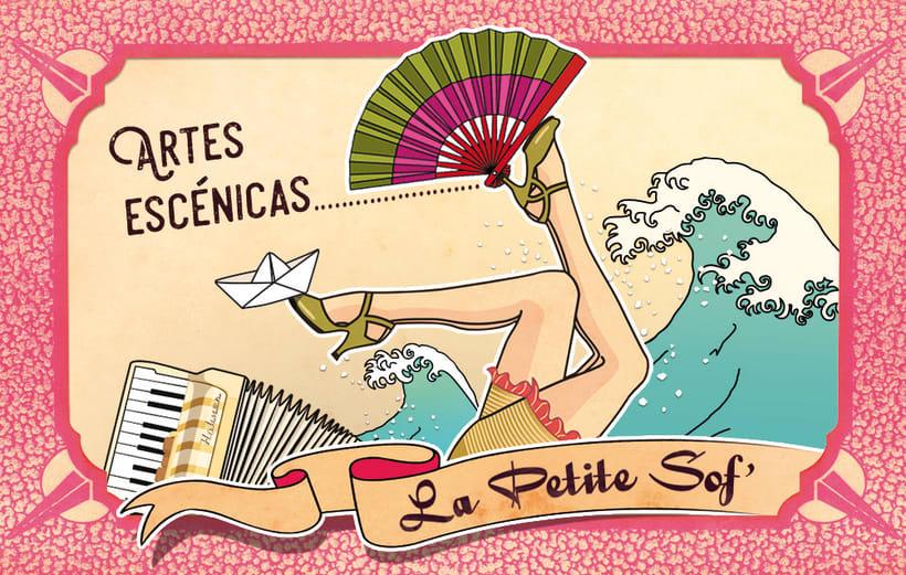 """Ilustración """"Artes Escénicas"""" -1"""