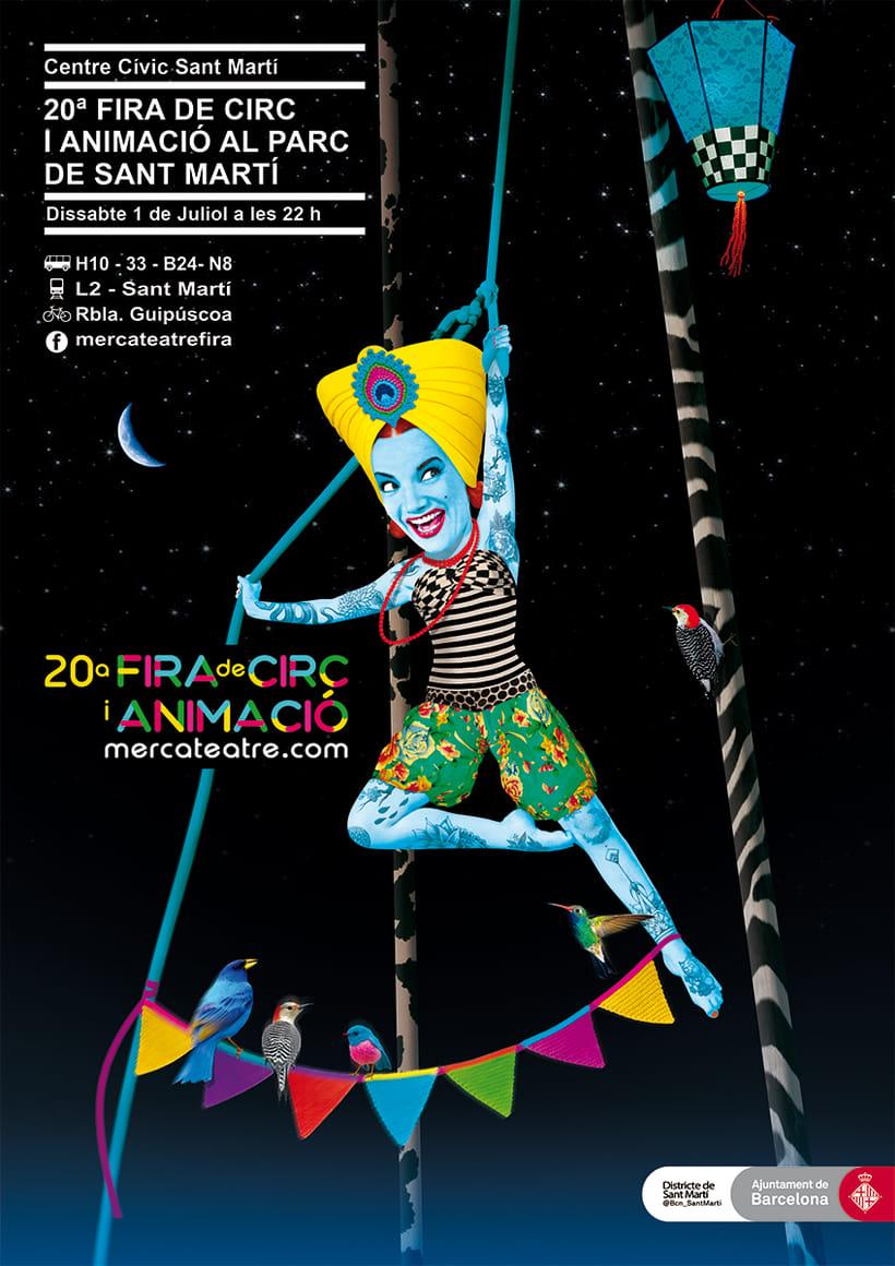 20ª Fira de Circ i Animació al Parc de St Martí -1