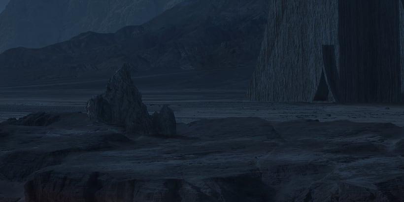 Alien world - Matte painting 5