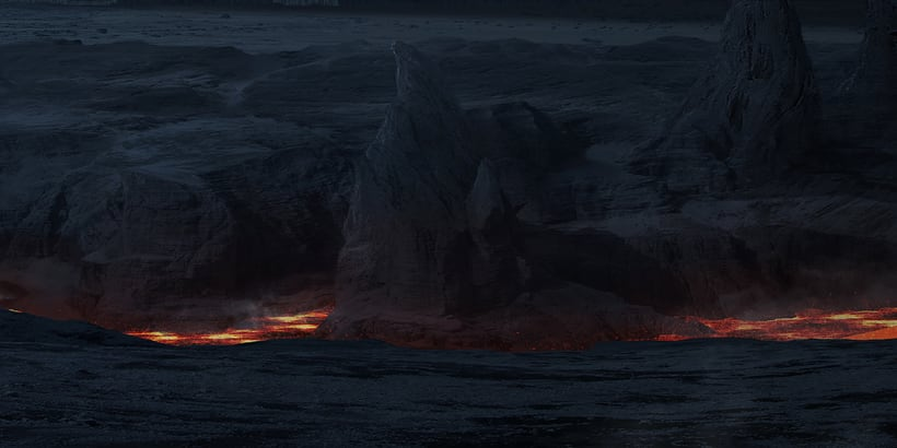 Alien world - Matte painting 6