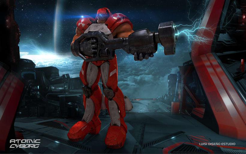 Atomic CYBORG - Diseño de personaje para cine y games 0