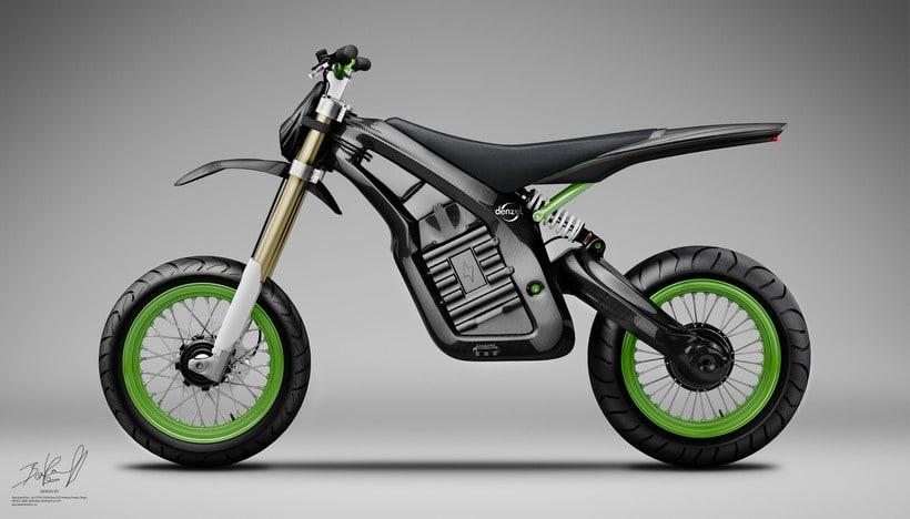 Project JUNIOR Electric Bike Carbon denseL 1