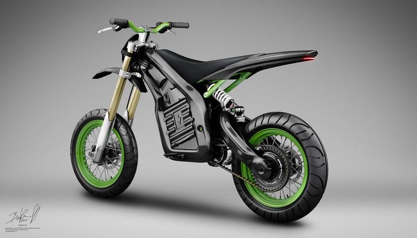 Project JUNIOR Electric Bike Carbon denseL 7