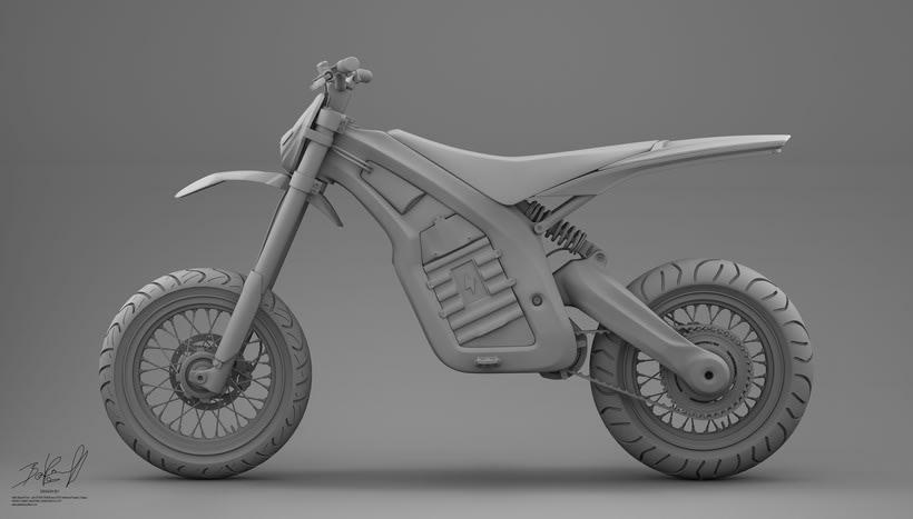 Project JUNIOR Electric Bike Carbon denseL 6