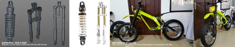 Project JUNIOR Electric Bike Carbon denseL 9