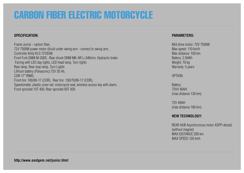 Project JUNIOR Electric Bike Carbon denseL 12