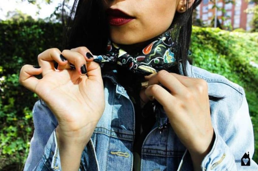 – MADE WITH ♥ – SILK SCARVES - GARDENS 2