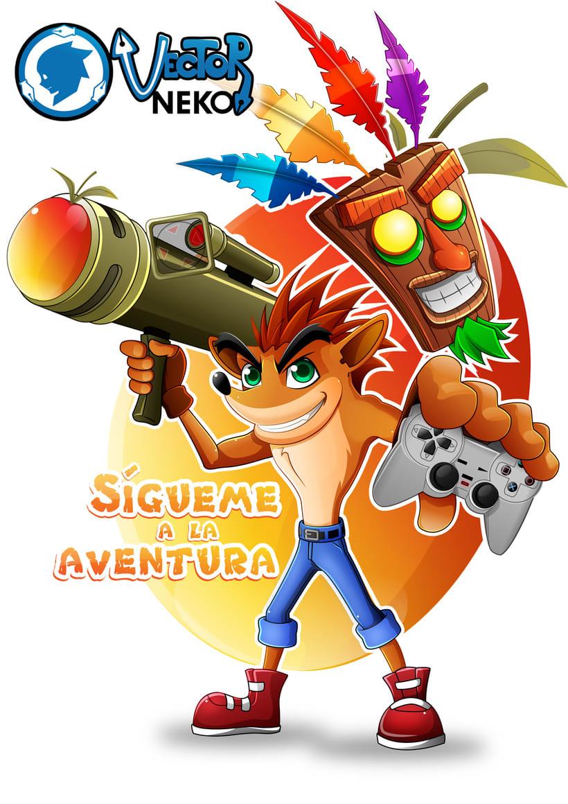 Crash bandicoot , un juego de la infancia -1