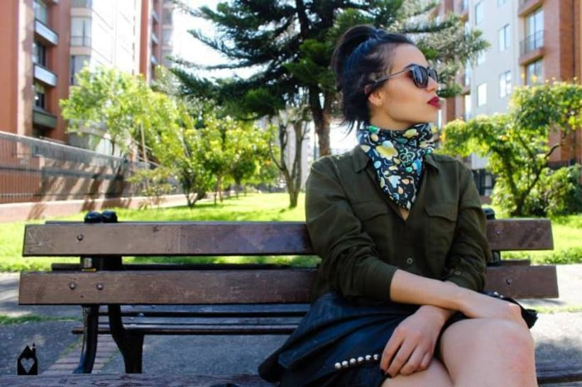 – MADE WITH ♥ – SILK SCARVES - GARDENS 3