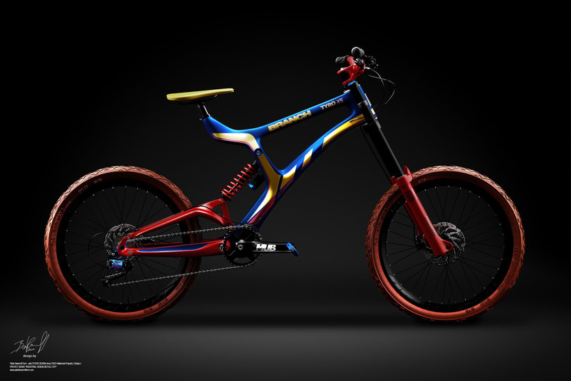 Branch Bike TyroX5 Prototype 1