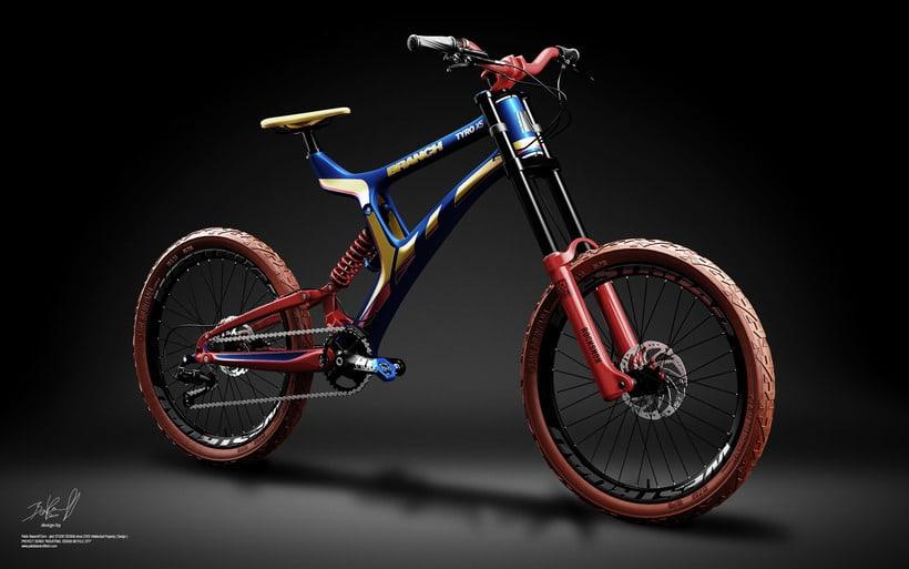 Branch Bike TyroX5 Prototype 3