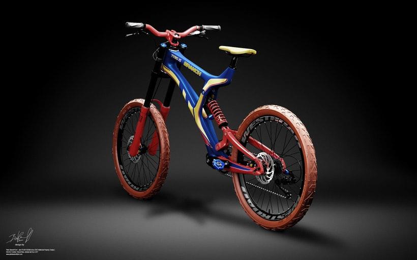 Branch Bike TyroX5 Prototype 4