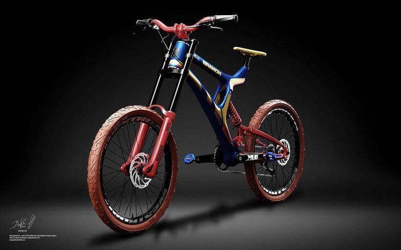 Branch Bike TyroX5 Prototype 2