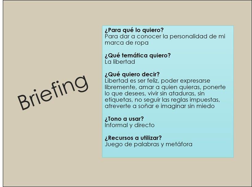 Mi Proyecto del curso: Copywriting: define el tono de tu marca personal 1