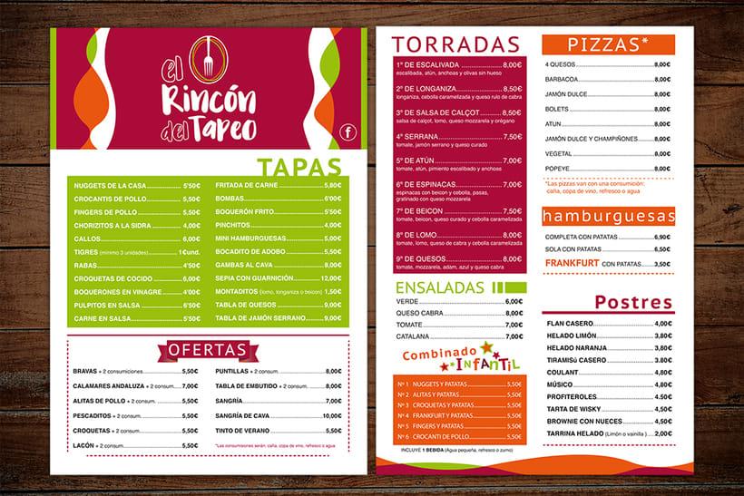 Menú Rincón del Tapeo -1