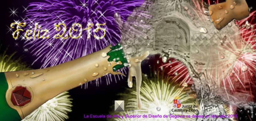 Felicitación Navideña 2015/ Casa de los Picos -1