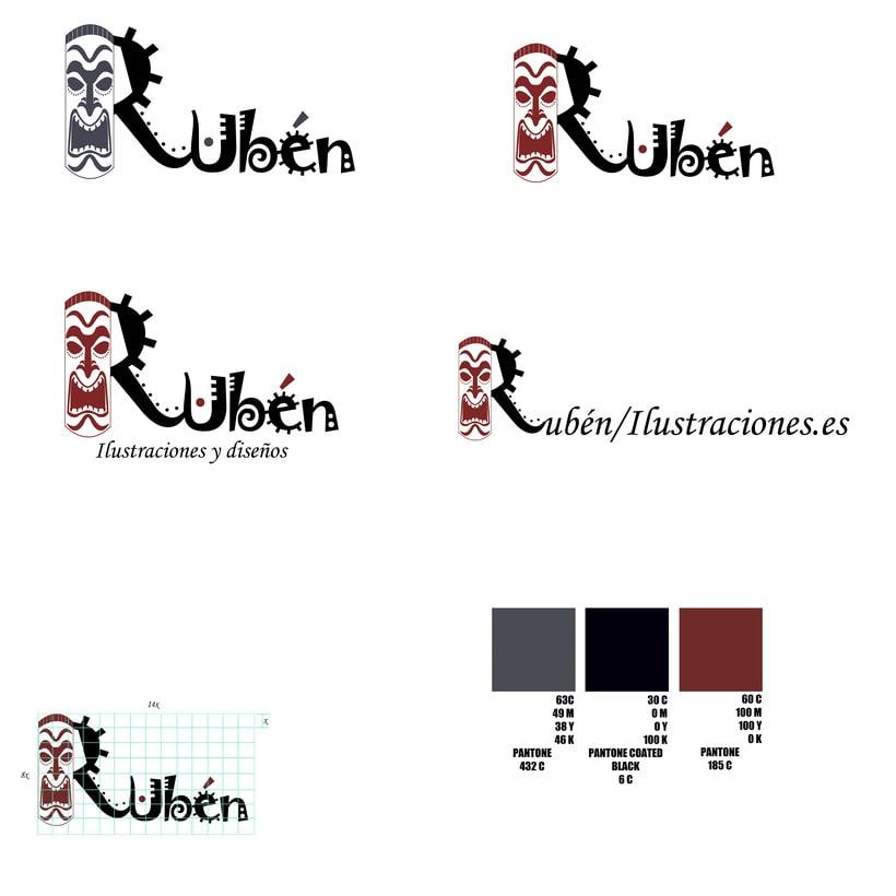 Ejemplo de logo propio/ Estudio de imagen propia/ trabajo de clase -1