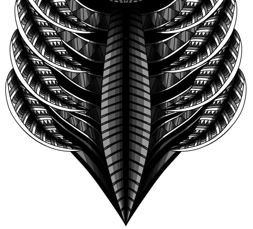 Ciervo geométrico 2