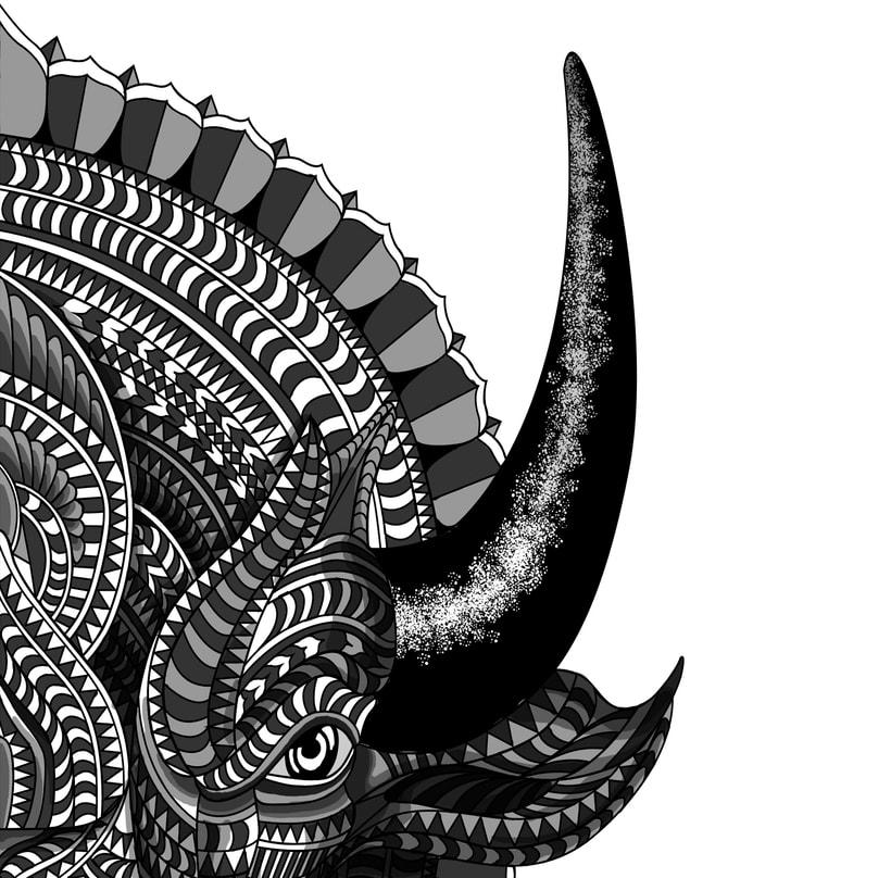 Buffalo geométrico 1