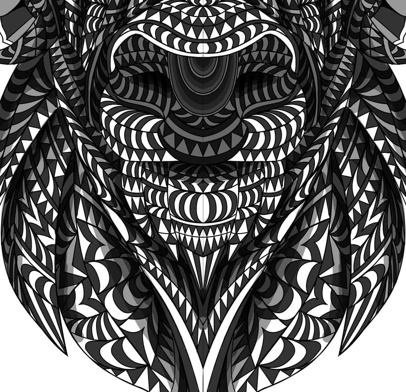 Buffalo geométrico 2