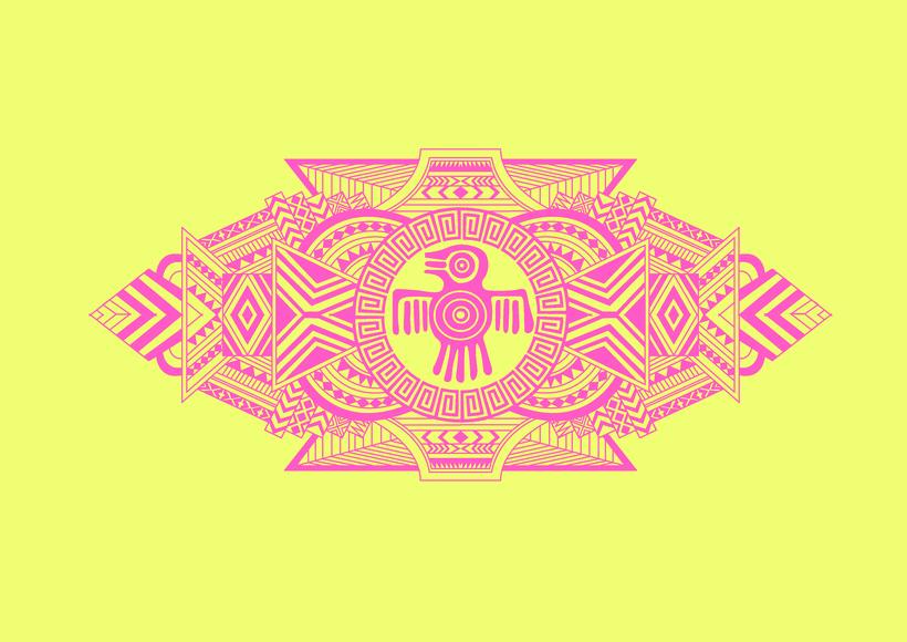 Diseño de skates de estilo maya 2