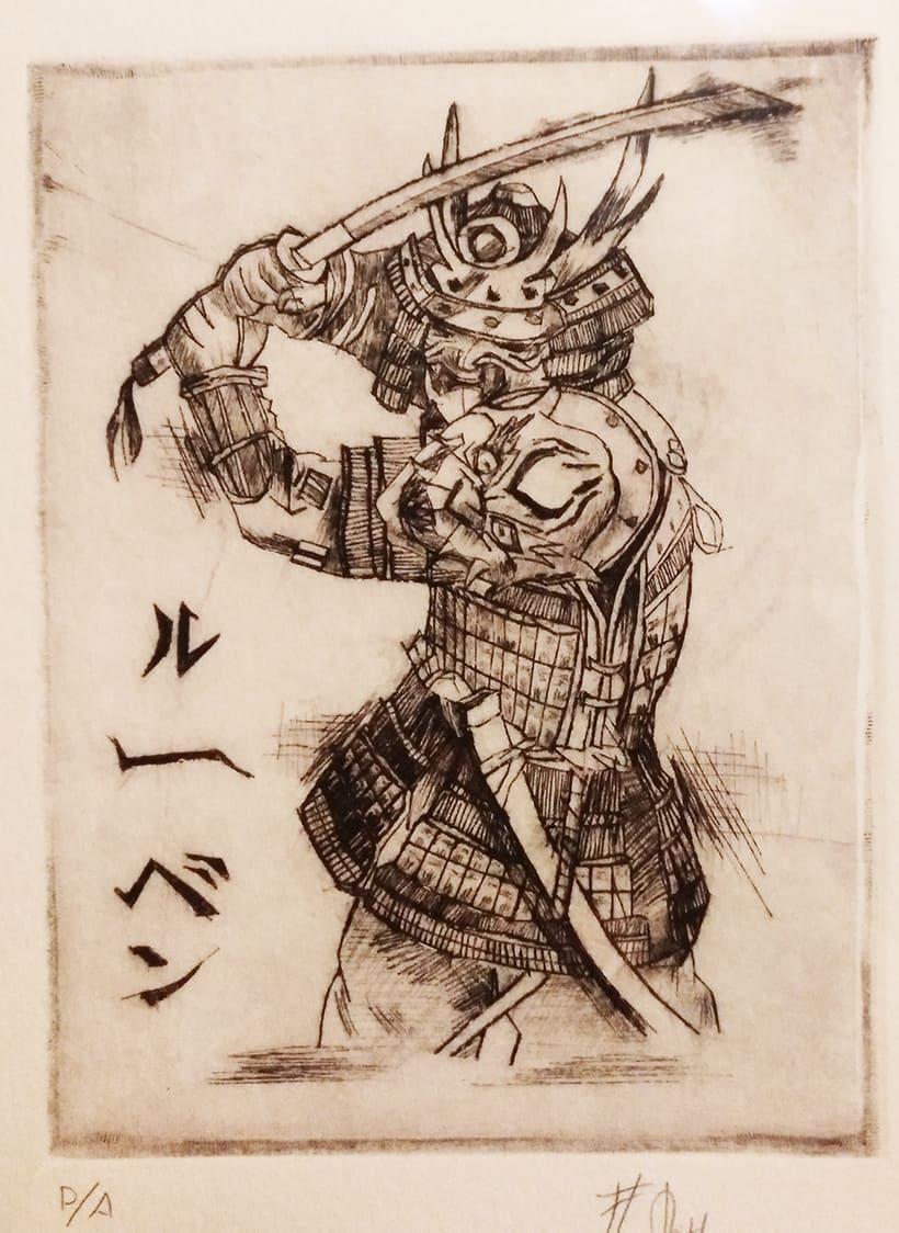 Samurai / Punta Seca -1