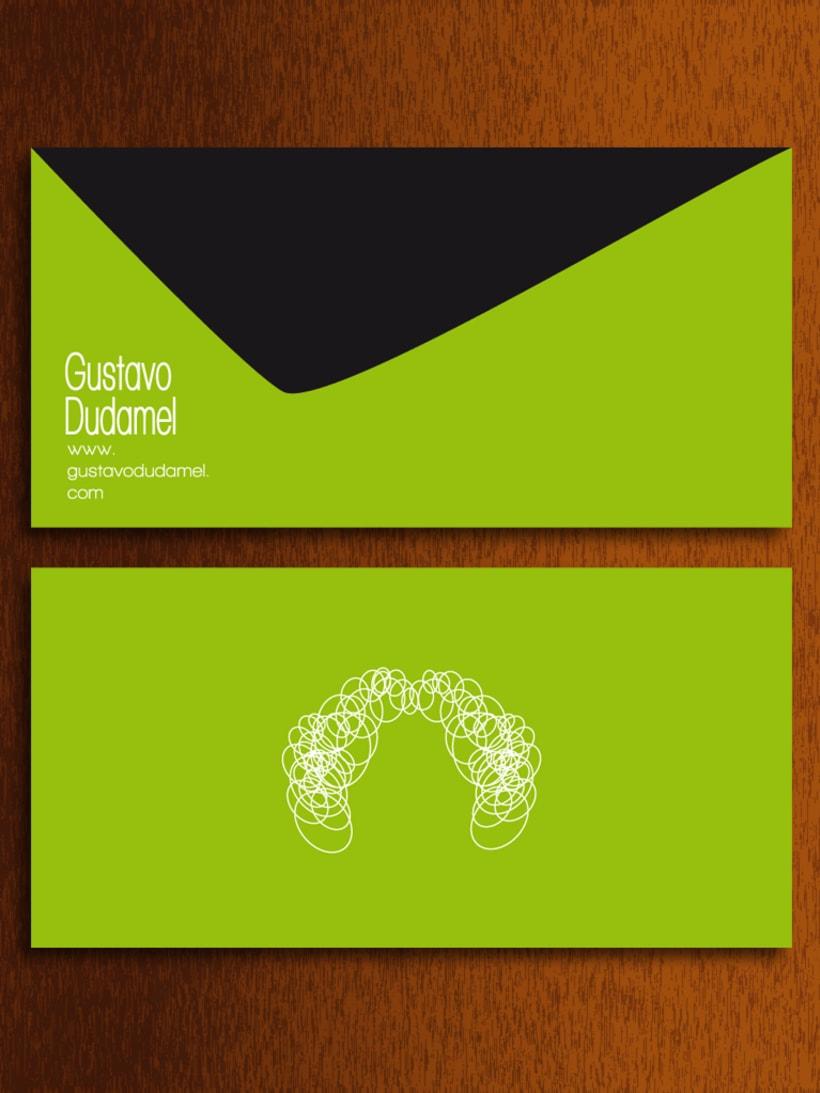 Papelería - Gustavo Dudamel (director de orquestas sinfónicas) -  propuesta 0