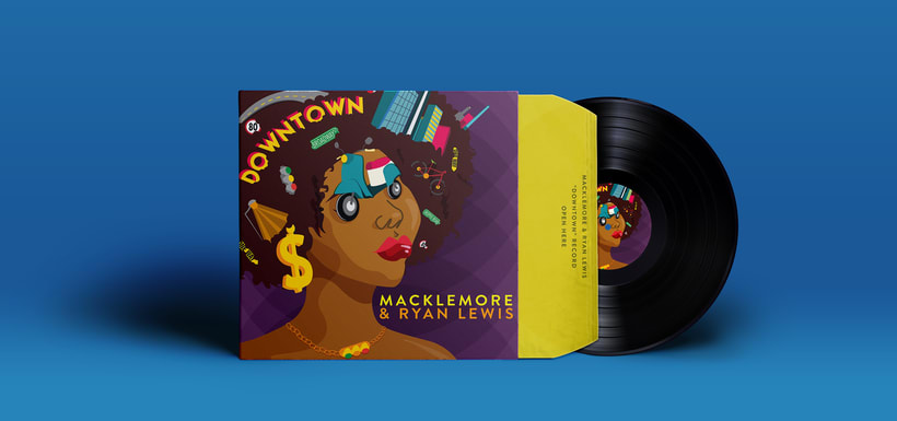 "CD Cover ""Downtown"" -1"