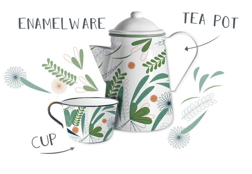 Diseño de Pattern para juego de café 0