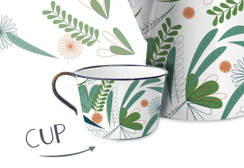 Diseño de Pattern para juego de café 1