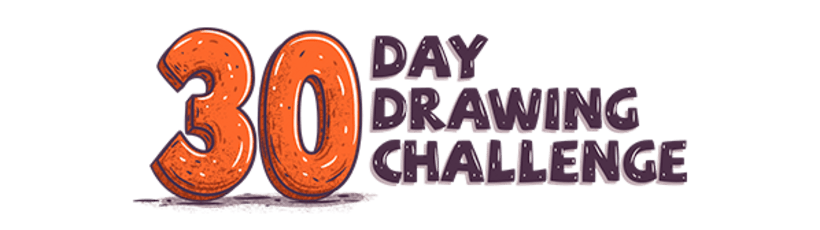 30 Day Drawing Challenge 1