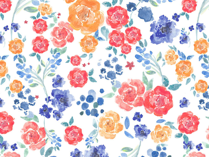 Estampado floral / Liberty print -1
