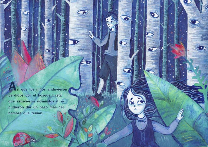 Ilustración editorial infantil : Hansel & Gretel 0