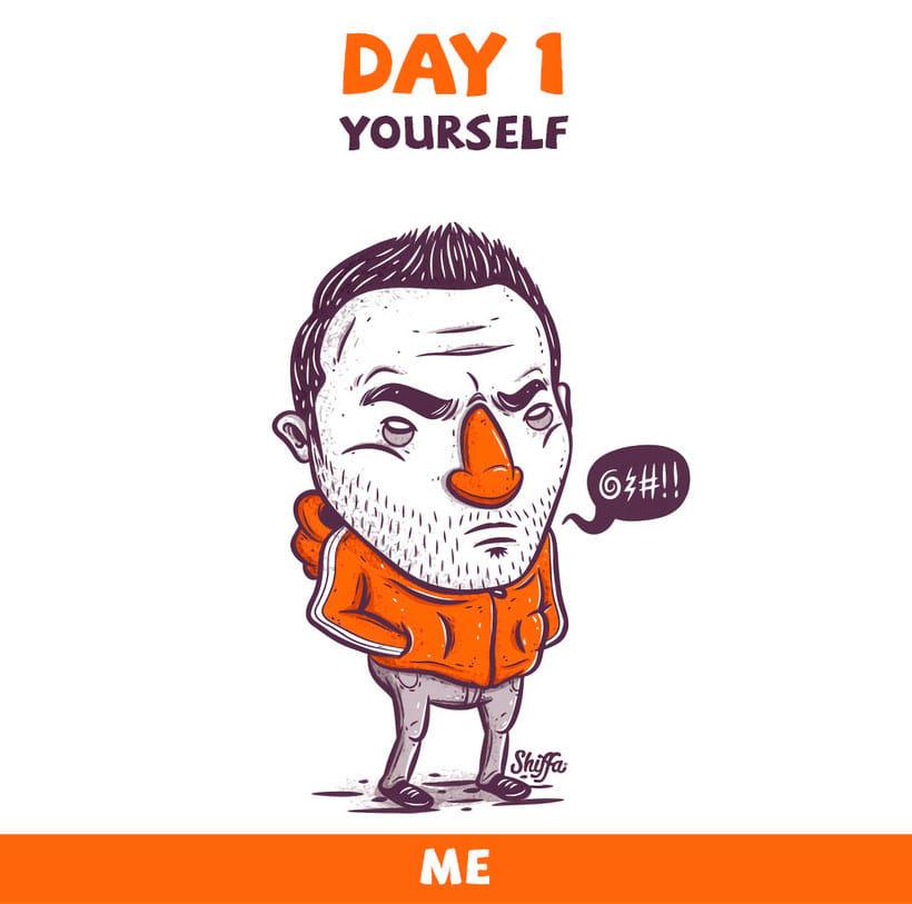 El reto ilustrado de 30 días de Shiffa 1