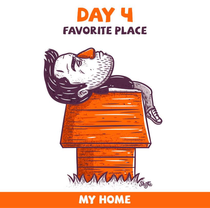 El reto ilustrado de 30 días de Shiffa 6