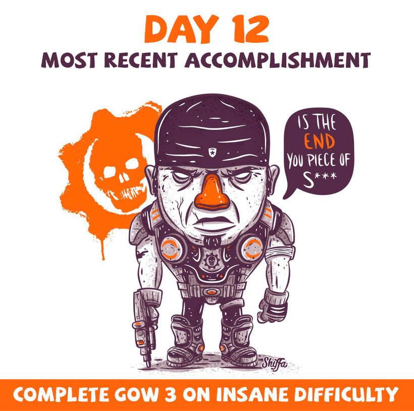 El reto ilustrado de 30 días de Shiffa 9