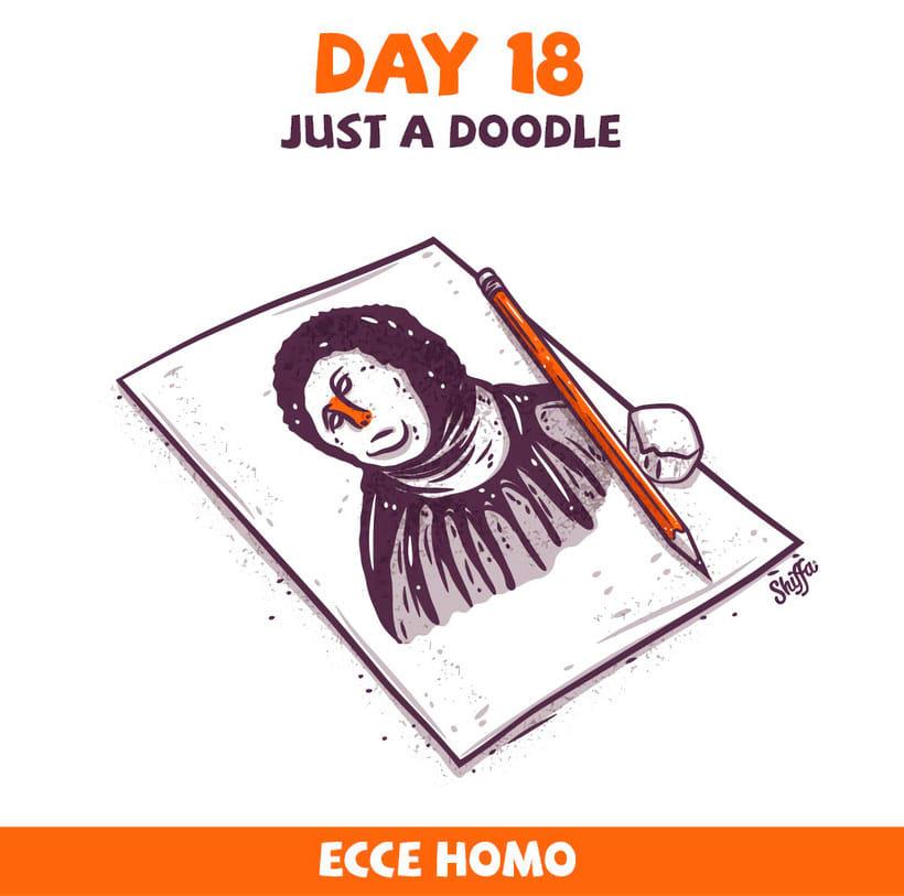 El reto ilustrado de 30 días de Shiffa 12