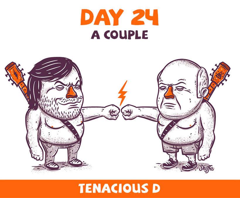 El reto ilustrado de 30 días de Shiffa 14