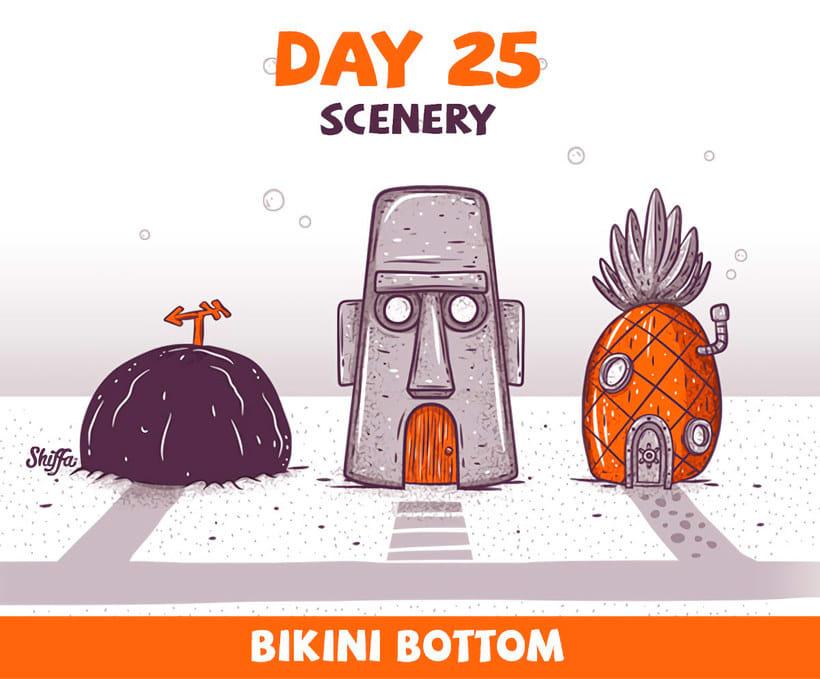 El reto ilustrado de 30 días de Shiffa 15
