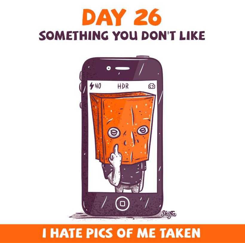 El reto ilustrado de 30 días de Shiffa 16