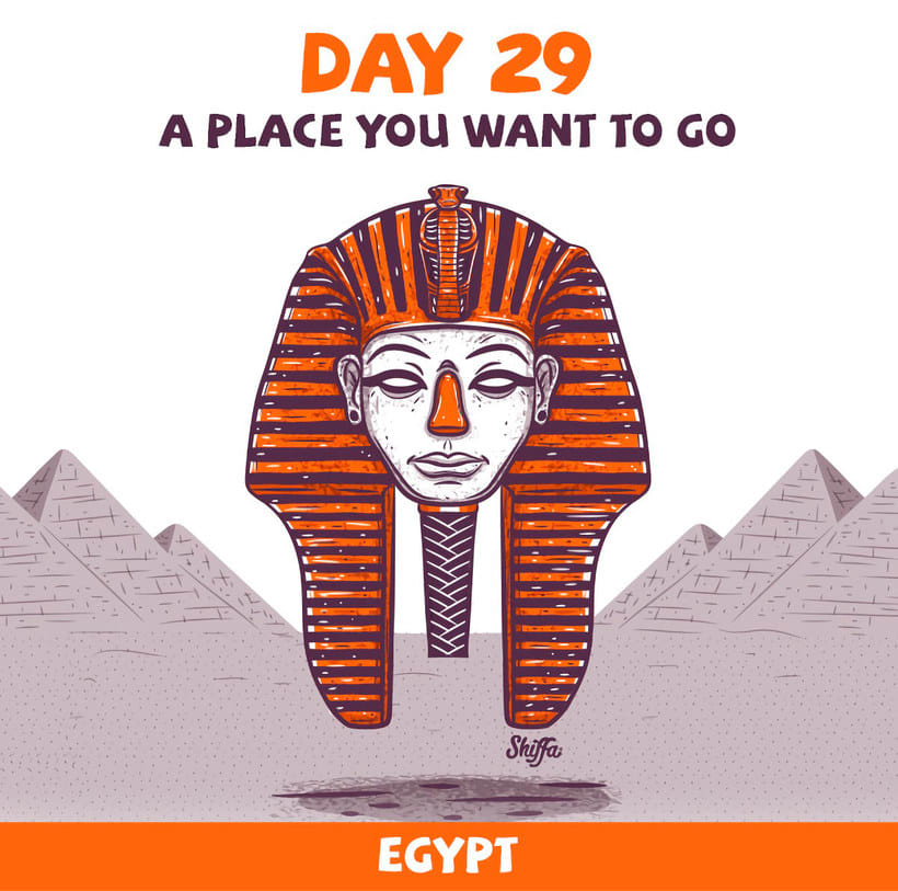 El reto ilustrado de 30 días de Shiffa 17
