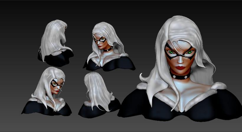 Mi Proyecto del curso: Felicia Hardy en 3D 0