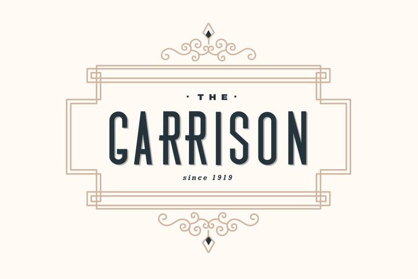 The Garrison: Mi Proyecto de diseño de un logotipo icónico 2