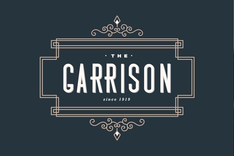 The Garrison: Mi Proyecto de diseño de un logotipo icónico 3