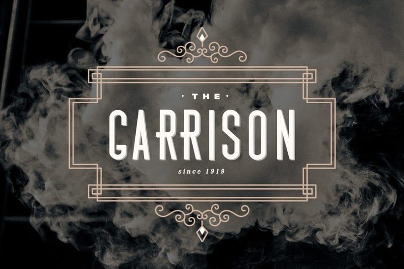 The Garrison: Mi Proyecto de diseño de un logotipo icónico 1