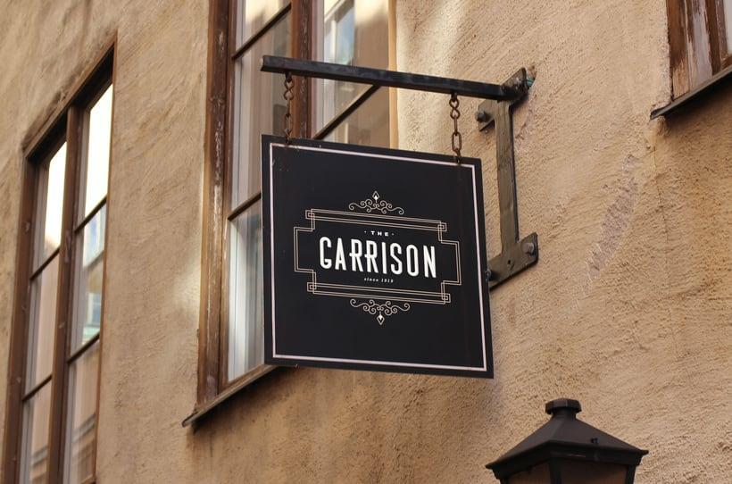 The Garrison: Mi Proyecto de diseño de un logotipo icónico 5