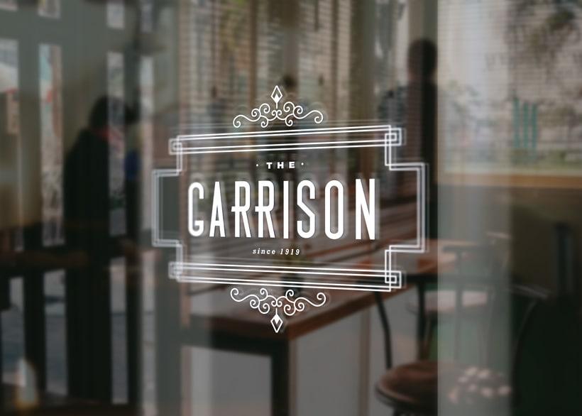 The Garrison: Mi Proyecto de diseño de un logotipo icónico 4
