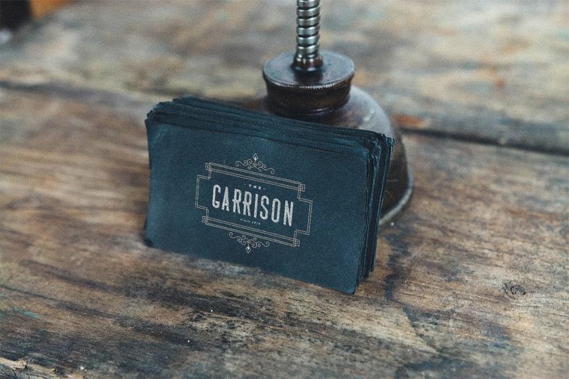 The Garrison: Mi Proyecto de diseño de un logotipo icónico 6